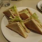 喫茶室ルノアール - 料理写真:贅沢サンドウィッチ