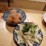 鶏ネバーランド  - きんかんポン酢&マカロニサラダ