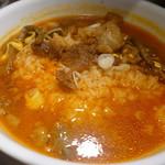 焼肉ホルモンブンゴ - ユッケジャンスープ