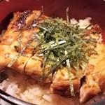 100115051 - 鶏照り焼き丼のアップ