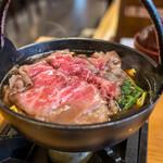 飛騨琢磨 - 飛騨牛すき鍋