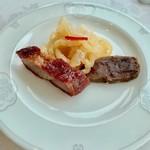 100120279 - 豚肉煮凝り、叉焼、クラゲ◎2018/12