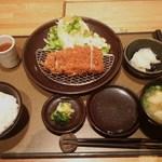ケンボロー - ロースかつランチ(S)1440円