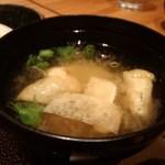 ケンボロー - 揚げ入り味噌汁