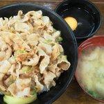 10013105 - 【New!】すた丼肉増しは、相変わらず迫力十分!