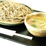名古屋 やぶ - ごま味噌せいろ 900円  (やぶ 特製つけ麺)