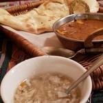 カレー&バイキング アンナプルナ - 寒い日はスープで温まります♪