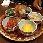 福満苑 鼓楼 - 前菜6種盛り