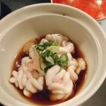 魚ちょ - 白子ポン酢