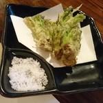 魚ちょ - 山菜のてんぷら