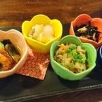 魚ちょ - 小鉢のつまみ