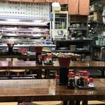 金時食堂 - 広い店内です(2019.1.15)