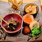割烹にし田 - 料理写真:先付け