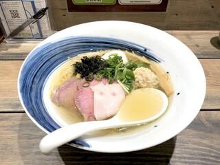 麺屋 翔 みなと - 真鯛の特製塩らーめん(1,050円)