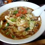 100137000 - 味噌ラーメン 700円 スープ、麺、具材のバランスが良く美味しい!