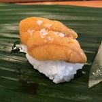 すし屋のやま八 - 料理写真:ウニ 塩
