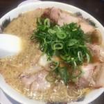 来来亭 - 料理写真:チャーシュー麺 背脂マシ