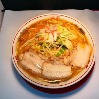 肉煮干し中華そば さいころ 中野本店