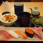 築地寿司清 - 小丼と寿司