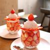 カフェド ペル - 料理写真:いちごたっぷりいちごパフェ