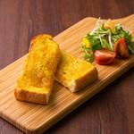 ごとカフェ - 【ごと芋トースト】 モーニングでもランチにも。 サラダもお楽しみいただけます。