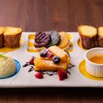 ごとカフェ - 【ごと芋プレート】ねっとり甘~いごと芋の全てを堪能できるスイーツプレート