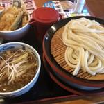久兵衛屋 - 料理写真:つけ汁ランチ 特盛 895円+税