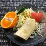 スパゲッティ専門店 タブキ - サービスサラダ