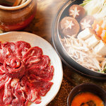 米とサーカス - 北海道直送、紅葉(蝦夷鹿)すき焼き