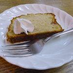 10015447 - サービスでパウンドケーキ