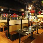 北京胡同 川香苑 - 隣のテーブルとは仕切りがあるので、周りを気にせず、お食事が出来ます