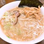 Hokkaidouramenrairaiken - (主人が注文した)味噌ラーメン