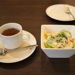 スカイキング - スープ、サラダセット