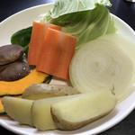 ビーフクック黒毛和牛 - 野菜2人分