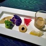 ラビスタ大雪山 - 夕食(冬野菜のバーニャカウダー)