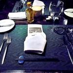ラビスタ大雪山 - 夕食(テーブルセッティング)