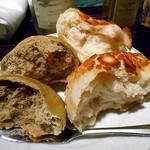 ラビスタ大雪山 - 夕食(江別産小麦'春よ恋'特製ダッチパン&ほうじ茶のパン)