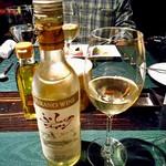 ラビスタ大雪山 - 夕食(白ワインのハーフボトル)