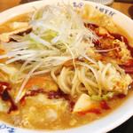 まると - 酸辣湯麺(冬季限定メニュー)