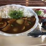 ハーヤナゴミカフェ - 季節の島野菜カレー