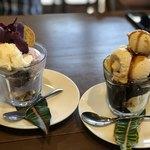 ぱーらー願寿屋 - 料理写真:うちなーサンデー、大人のパフェ