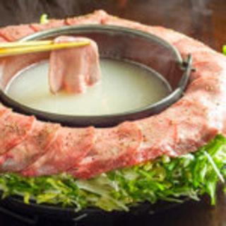 お得!お昼限定♪牛タン焼きしゃぶセット2,180円(税別)!