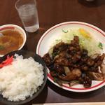 一楽 - 焼肉(豚)定食