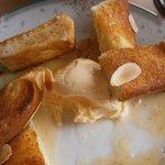 オレンジサンセット - メイプルトーストとアイスup④バニラも美味!