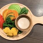 十四番目の月 - 季節野菜のバーニャカウダ