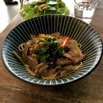 MéliMélo Café - *ラムまぜ麺(本日のまぜ麺)(¥830)