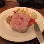 kamekichi bistro - パテドカンパーニュ(田舎風お肉のパテ)(¥1200)