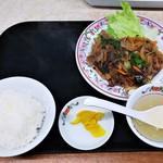 餃子の王将 - ジンギスカン定食(餃子なし)