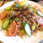 東南アジア料理 ミャンマービレッジ - 料理写真:サフラン混ぜご飯のダンパオ(1080円)