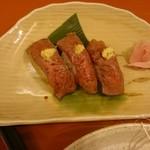 100174978 - 前沢牛の握り寿司